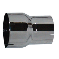 Chrome Exhaust Adapter 7 To 5 X 8 Inch Reducer