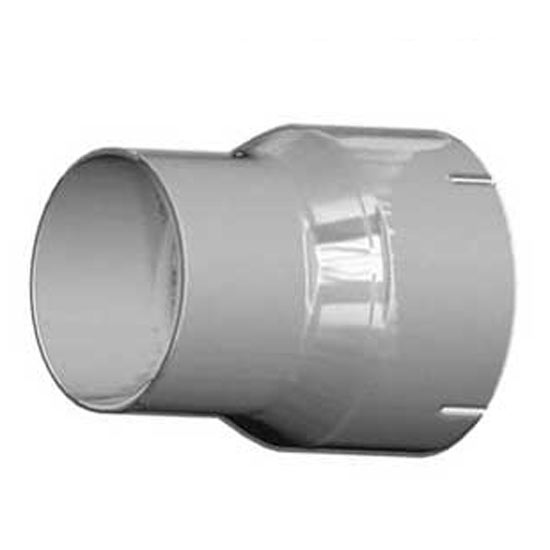 7-5 X 9 5 Inch Chrome Exhaust Reducer