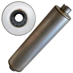 Muffler - 51 1/2in Performance Muffler - 10in Dia.
