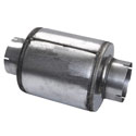 9 X 10 Inch Galvanized Steel Exhaust Resonator