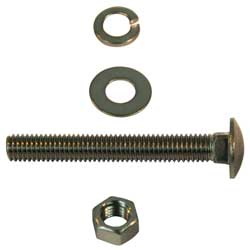 Exhaust Clamp Replacement Bolt Kit 18-8 Stainless Steel
