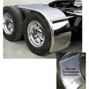 Stainless Rollin Lo Fenders for 22.5in Tall & 24.5in Tires