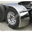 Stainless Rollin Lo Fenders for 22.5in Low Pro Tires