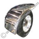 Stainless Steel Half Fender - 31in x 66in - 16 Gauge