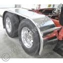 Stainless Steel Full Fenders with Radius