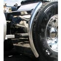 Stainless Steel 38 Inch Quarter Fender