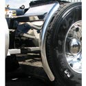 Stainless Steel Quarter Fender - 38in