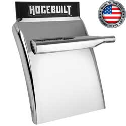 Hogebuilt Stainless Steel Quarter Fenders - Mirror Finish - 30in
