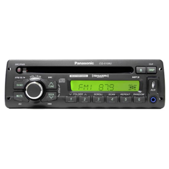 Panasonic CQ5109U Radio for Freightliner 1986 thru 2005