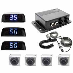 Heavy Duty Commercial Sensor Backup System With LED Display