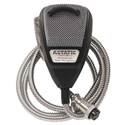 Astatic 636LSE Noise Canceling 4 Pin CB Microphone Silver Edition