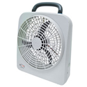 RoadPro 12 Volt Or Battery 10 Inch Portable Fan