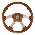 Light Mahogany Wild Wood Steering Wheel