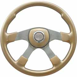 Champagne Gold Comfort Steering Wheel