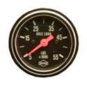 2 Inch Axle Load Gauge - 5000-55000 Lb