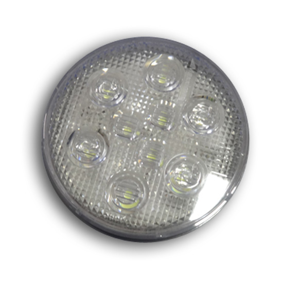 Volvo Semi Truck Parts >> Round 4 Inch LED Clear Backup Light 9 Diodes - 4 State Trucks