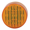 2 Inch 9 Diode Amber LED Clearance & Marker Light