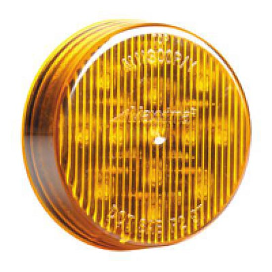 Led Lights For Semi Trucks >> LED 2-1/2 Inch Clearance/Marker Light Amber with 13 Diodes - 4 State Trucks