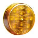 2.5 Inch 13 Diode Amber LED Round Marker Light With Amber Lens