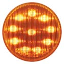 2 Inch LED Clearance/Marker Light Amber/Amber 10 Diodes