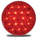 4 Inch LED Stop/Turn/Tail Light Red/ Red 18 Diodes