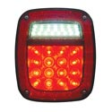 LED Combination Light 16 Red and 22 White