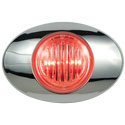 M3 Millennium Series Marker/Clearance Light LED Clear/Red