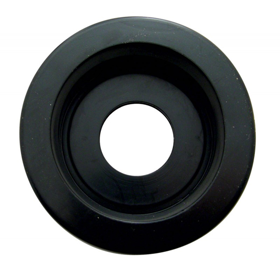 Hatch Shock Mounting Grommet: 2 1/2 In Rubber Grommet