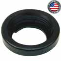 Rubber 2 Inch Round Rubber Grommet With Open Back