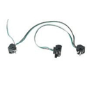 3 Light Harness With 3 Prong Plugs On 12 Inch Spacing