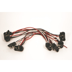 9 Light Harness With 3 Prong Plugs On 12 Inch Spacing