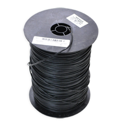 14 Gauge Black Wire - Sold By Foot (1000 Foot Roll)