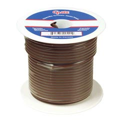 14 Gauge Brown Electrical Wire 100 Feet