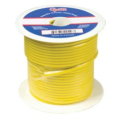 14 Gauge Yellow Electrical Wire 100 Feet