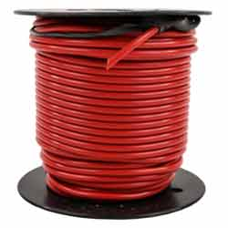 14 Gauge Red Electrical Wire 100 Feet
