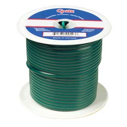 16 Gauge Green Electrical Wire 100 Feet