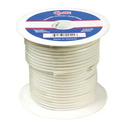 18 Gauge White Electrical Wire 25 Feet