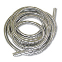 Stainless Steel Flexible 1/2 Inch Wire Loom 10 Feet Per Roll