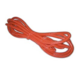 1/4 Inch Red Split Plastic Loom