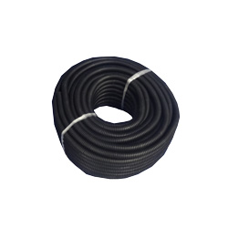 3/8 Inch Black Plastic Loom 100 Feet