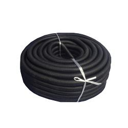 5/8 Inch Black Plastic Loom 100 Feet