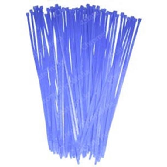 Colored Wire Ties 11 Inch Blue (Pack of 25) - 4 State Trucks