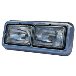 Dual Rectangular Headlight Assembly