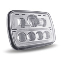 5 X 7 Inch 890 Lumens LED Projection Headlight