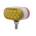 13 Amber & 13 Red LED Double Face Auxiliary Light