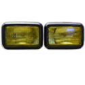 Black Fog Light Kit Amber