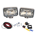 4 X 6 Inch Rectangular Headlights Clear Halogen