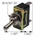 2 Blade On/Off Toggle Switch 20 Amp 12 Volt