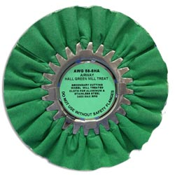 Zephyr Green Airway Light-Medium Cutting Wheel