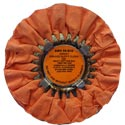 Zephyr Orange Ruffy Heavy Cutting Wheel